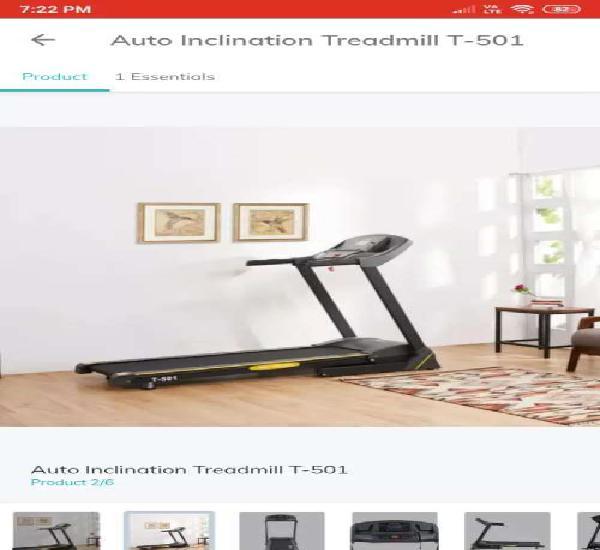 Treadmill on rental basis