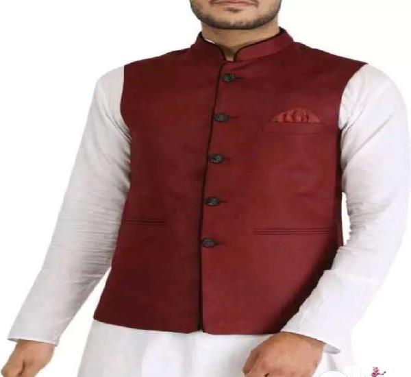Catalog name: *divine stylish printed men's nehru jacket