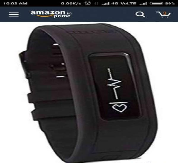 Goqii fitness tracker with heart rate monitor