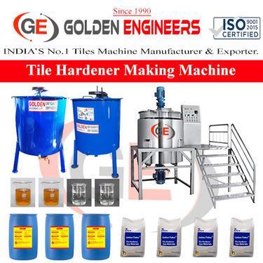 Low price interlocking tile hardener making machine details