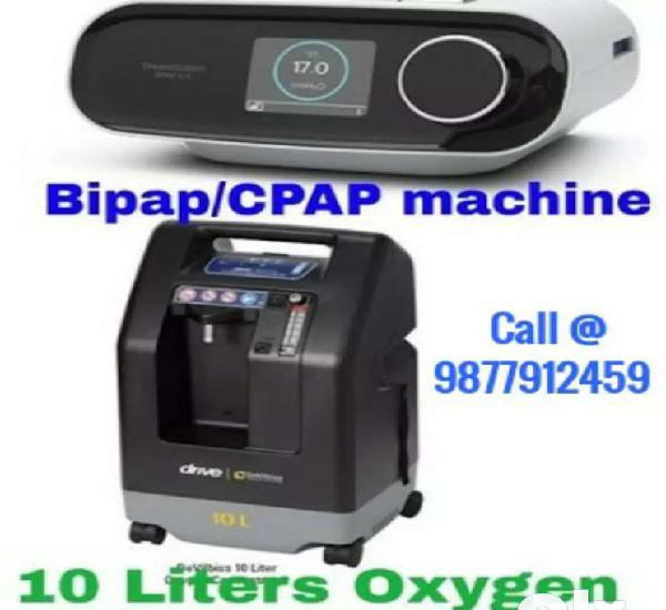 On rent: cpap bipap oxygen machines