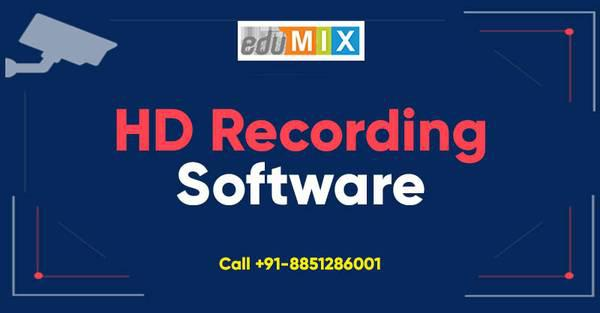 Record lectures with hd recording software | edumix -