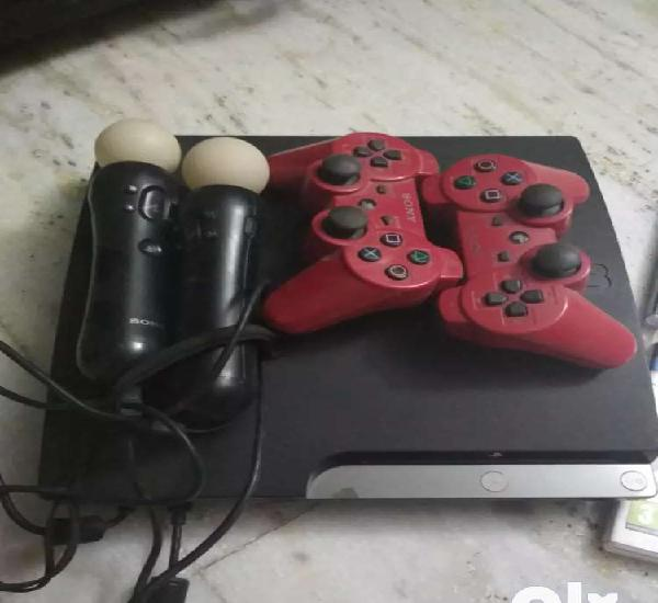 Sony ps3 with accessories