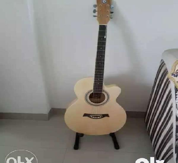 It is a new musical guitar. it has