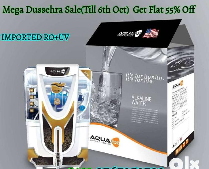 Buy imported ro+uv water purifier & get exclusive dussehra