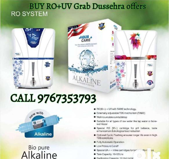 Buy imported ro+uv water purifier & grab dussehra offers