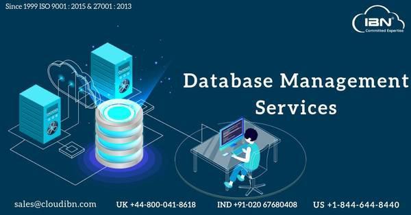 Database management services- cloudibn - computer services