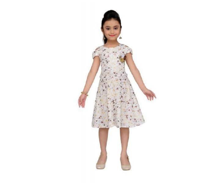 Girls MidiKnee Length Party Dress