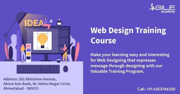 Learn web design & development course at agile academy -