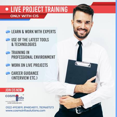Live project training company - lessons & tutoring