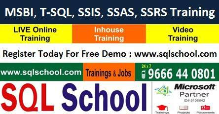 Msbi with sql server - lessons & tutoring