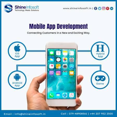 Mobile application development in india - creative services