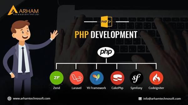 Php web development company in india  arhamtechnosoft -