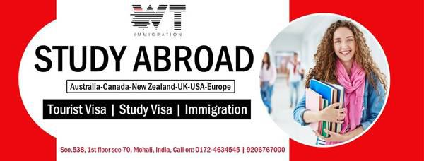 Study abroad consultants in mohali - travel/vacation