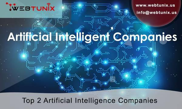 Top 2 artificial intelligence companies - computer services