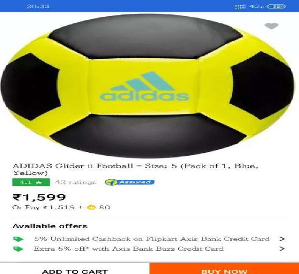 Adidas glider ii football
