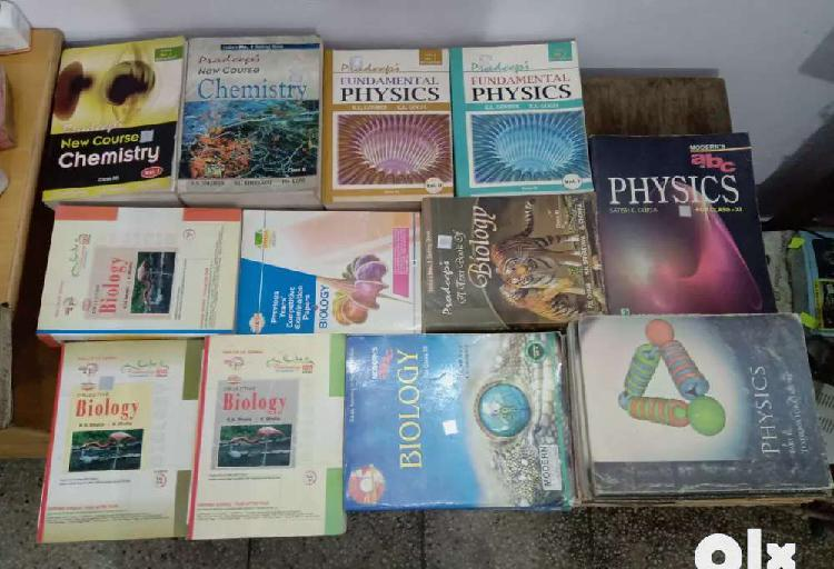 Class 11th-12th all ncert books(pcmb)+ preparatory books for