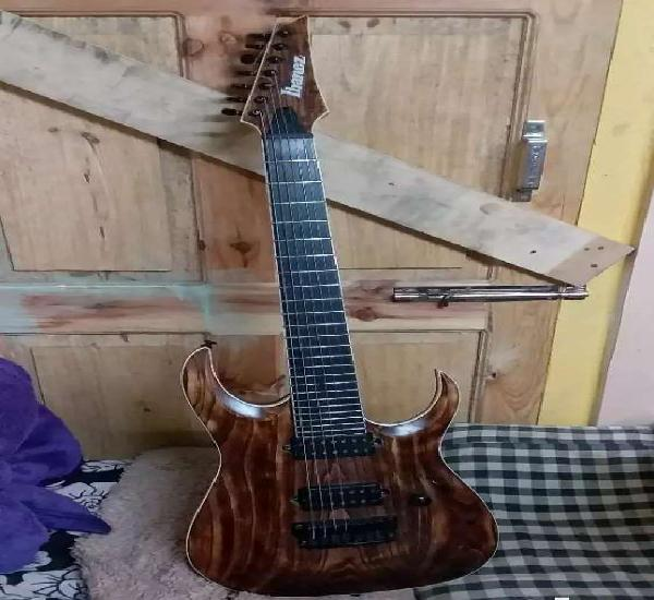 Ibanez iron label rgixl7-7strings-antique brown stained low