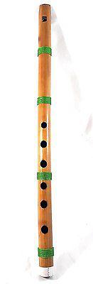 Indian bansuri bamboo flute fipple type- indian musical