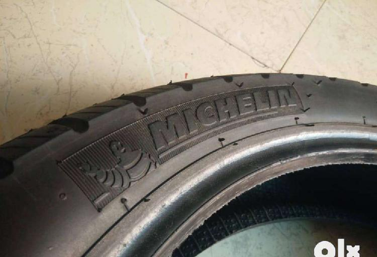 Michelin rear tyre