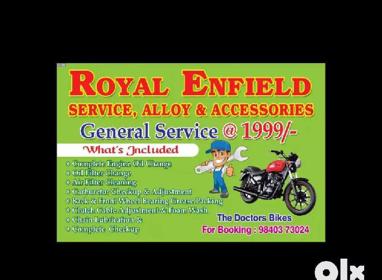 Royal enfield bikes generak services @1999