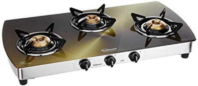 Buy 3 burner gas stove online