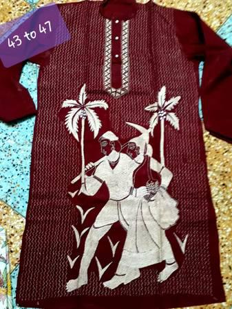 Men's Punjabi with Hand Work. - clothing & accessories - by