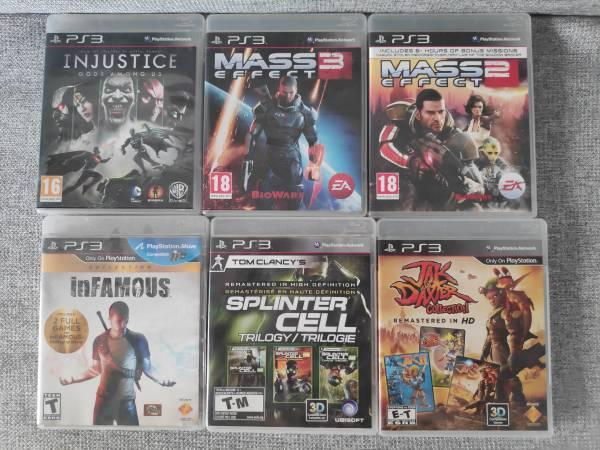 Playstation 3 (ps3) games for sale - video gaming - by owner