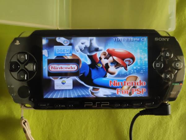 Sony psp handheld gaming console for sale - video gaming -