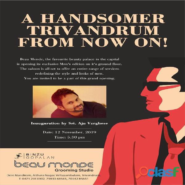 Beaumonde now grooming studio