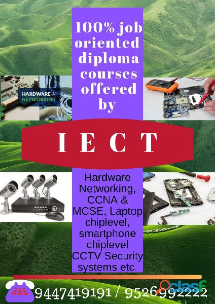 100 % job oriented courses in iect