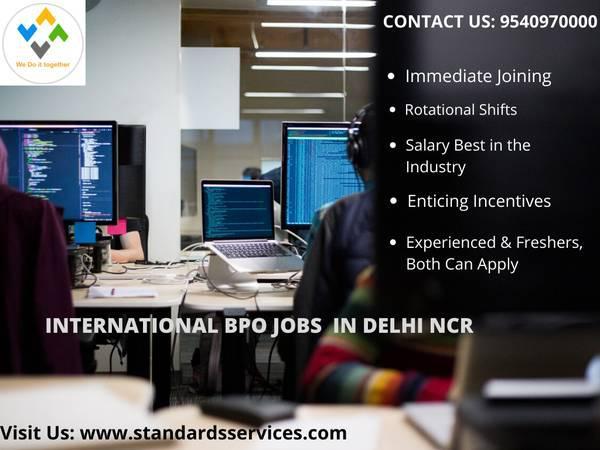 International bpo jobs in delhi - customer service
