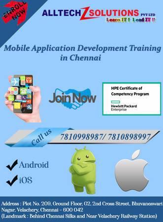 Mobile apps development course in saidapet -