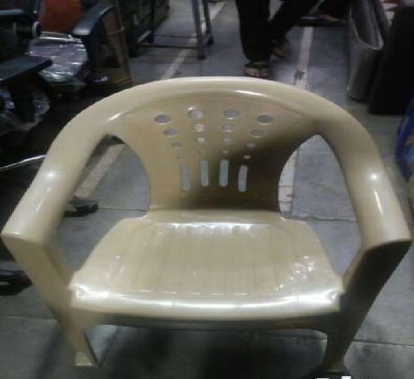 Plastic chairs 1 year guarantee