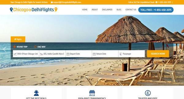 Chicago to Delhi - Cheap Flights Chicago to Delhi | 45% Off