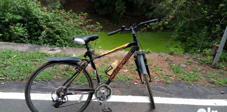 Firefox bicycle with alloy frame