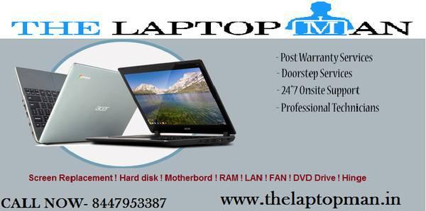 Get best acer laptop service center in east delhi. -