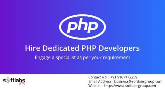 Hire Dedicated PHP Developer from Softlabs Group - computer