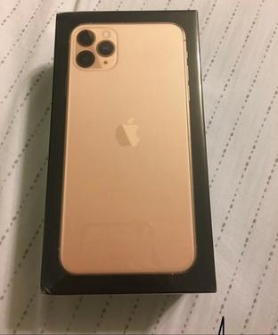New sealed apple iphone 11 pro max 512gb gold factor