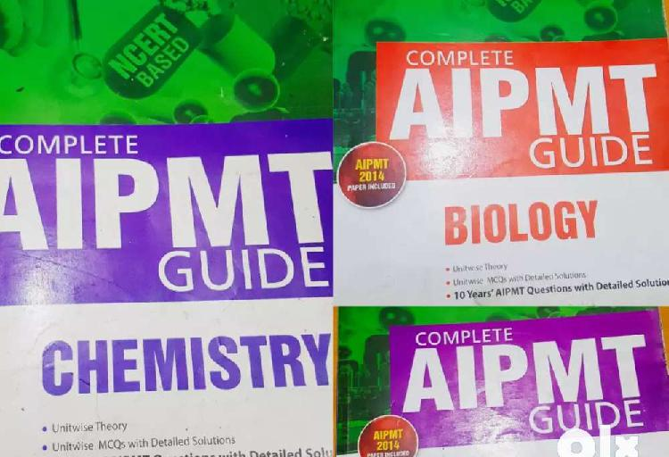 Aipmt physics, chemistry , biology books