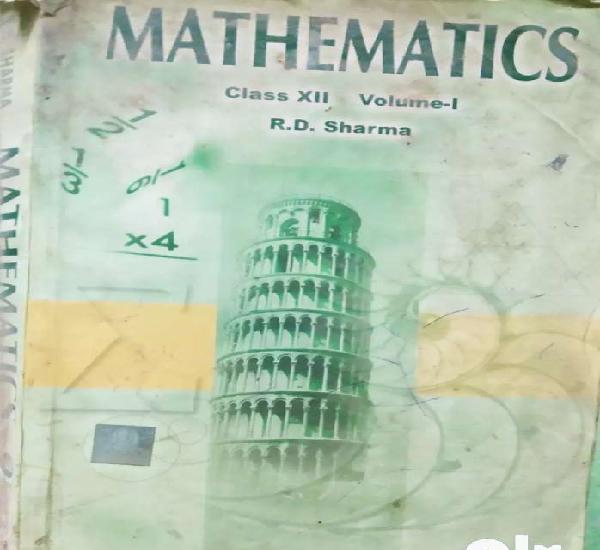 Maths class 12 rd sharma