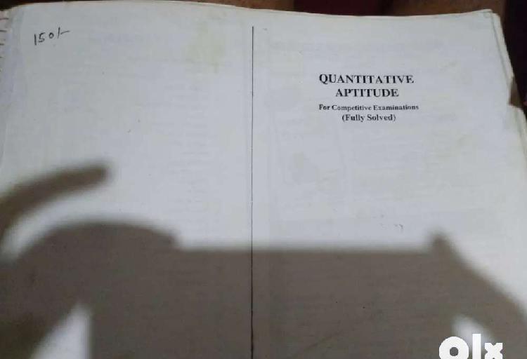 R S Agarwal Aptitude book
