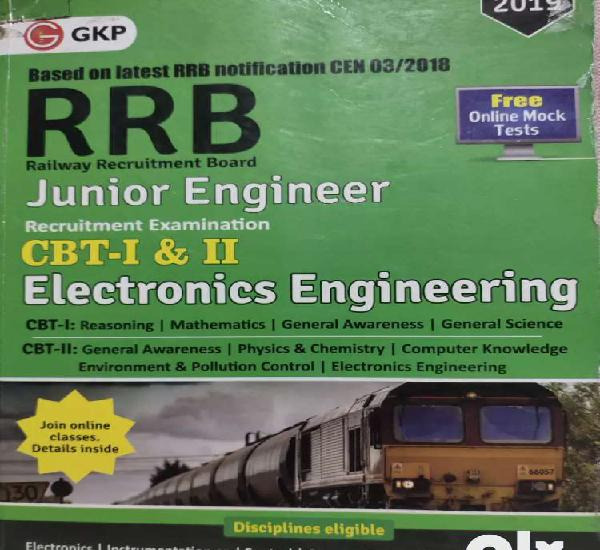 Railway junior engineer book 2019 edition.