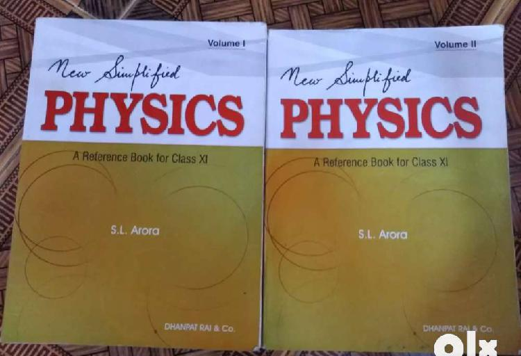 S.l. arora physics guide for class 11
