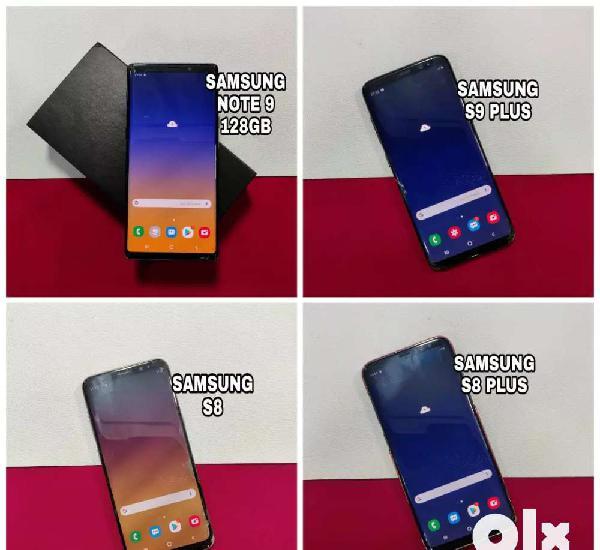 Samsung s8, samsung note 9, samsung s8 plus, samsung s9