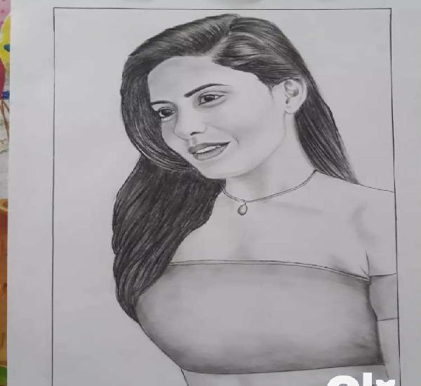 sketch rs. 300