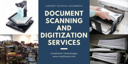 Documents Scanning and Digitizing Services - computer