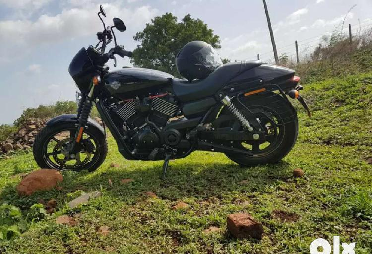 Harley davidson street 750 very less used mint condition