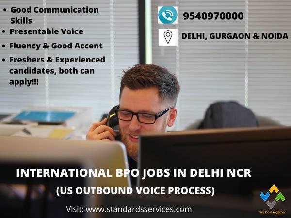 International bpo jobs in delhi ncr - customer service