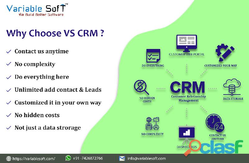 Crm software companies in india